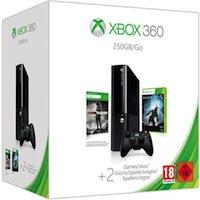 XBox 360E 250G (Slim)+Halo4+Tomb Raider+Карта подписки 1 месяц