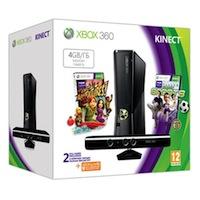 XBox 360 4G (Slim)+Kinect+Sports 2+Карта подписки 1 месяц