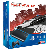 PlayStation 3 (500G) Super Slim+Need for Speed Most Wanted