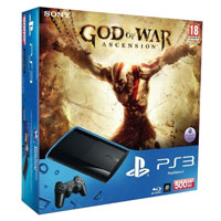 PlayStation 3 (500G) Super Slim+God of War: Ascension