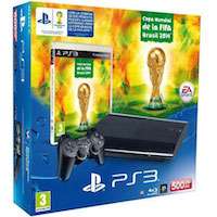 PlayStation 3 (500G) Super Slim+2014 FIFA World Cup Brazil