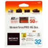 Memory Stick Sony Pro DUO High Speed ORIGINAL 32G