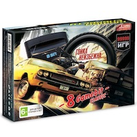 Игровая приставка 8-bit (коробка в стиле