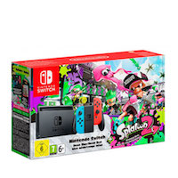 Nintendo Switch (NeonRed/NeonBlue) + Splatoon 2