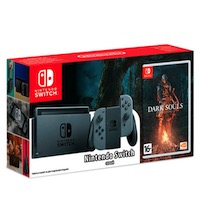 Nintendo Switch (Grey) + Dark Souls - Remastered