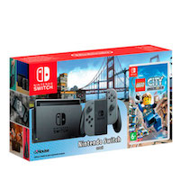 Nintendo Switch (Grey) + Lego City Undercover