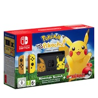 Nintendo Switch + Let's Go Pikachu Limited Edition