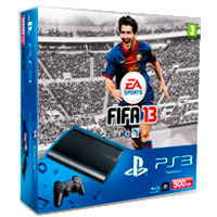 PlayStation 3 (500G) Super Slim+FIFA 13