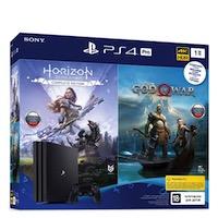 PlayStation 4 (РСТ) PRO (1TB)+Horizon Zero Dawn+God of War