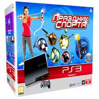 PlayStation 3 (320G)+Праздник Спорта+Starter Pack