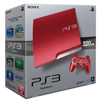 PlayStation 3 (320G)+Controller Red