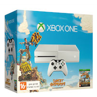 XBox One 500G White + Sunset Overdrive