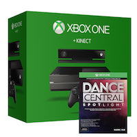XBox One 500G+Kinect2 +Dance Central Spotlight