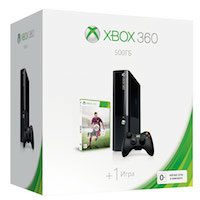 XBox 360E 500G (Slim)+Fifa 15