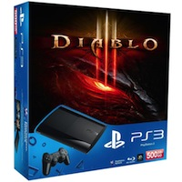 PlayStation 3 (500G) Super Slim+Diablo III+2x Skins (Наклейки)
