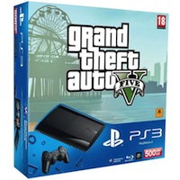 PlayStation 3 (500G) Super Slim+GTA V