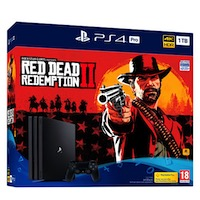 PlayStation 4 PRO (1TB)+Red Dead Redemption 2