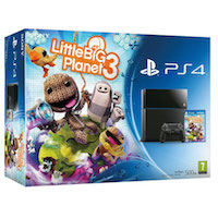 PlayStation 4 (500GB)+LittleBigPlanet 3