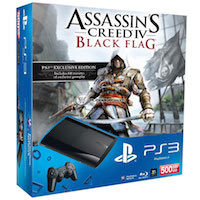 PlayStation 3 (500G) Super Slim+Assassin's Creed IV
