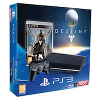 PlayStation 3 (500G) Super Slim+Destiny