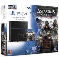 PlayStation 4 (1TB) +Assassin's Creed Синдикат +Watch_Dogs