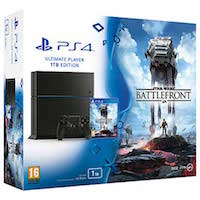 PlayStation 4 (1TB)+Star Wars: Battlefront