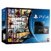 PlayStation 4 (500GB)+GTA 5