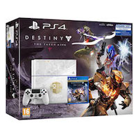 PlayStation 4 (500GB)+Destiny: The Taken King Limited Edition