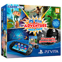 PS Vita Slim (2008) Wi-Fi Black+PSN код активации Adventure MegaPack+PS Vita Memory Card (РСТ) 8G
