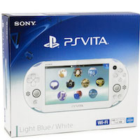PS Vita Slim (2006) Wi-Fi Blue-White