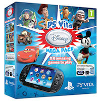 PS Vita (1108) Wi-Fi/3G Black+ Disney MegaPack 6 промокодов+PS Vita Memory Card (РСТ) 16G