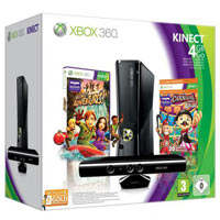 XBox 360 4G (Slim)+Kinect+Carnival Games+ 3М Live