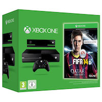 XBox One 500G+Kinect2+Fifa 14