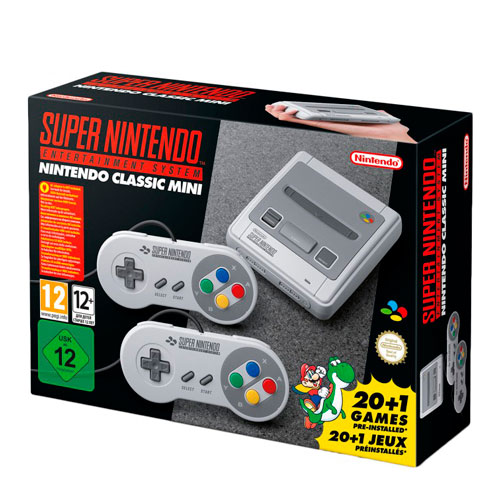 super nintendo box