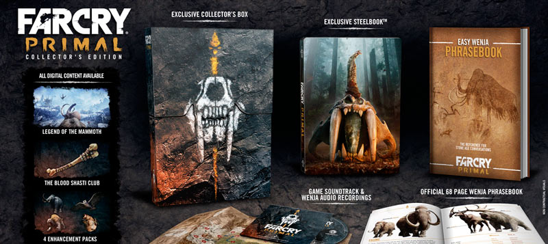 far cry primal collector edition kudos game